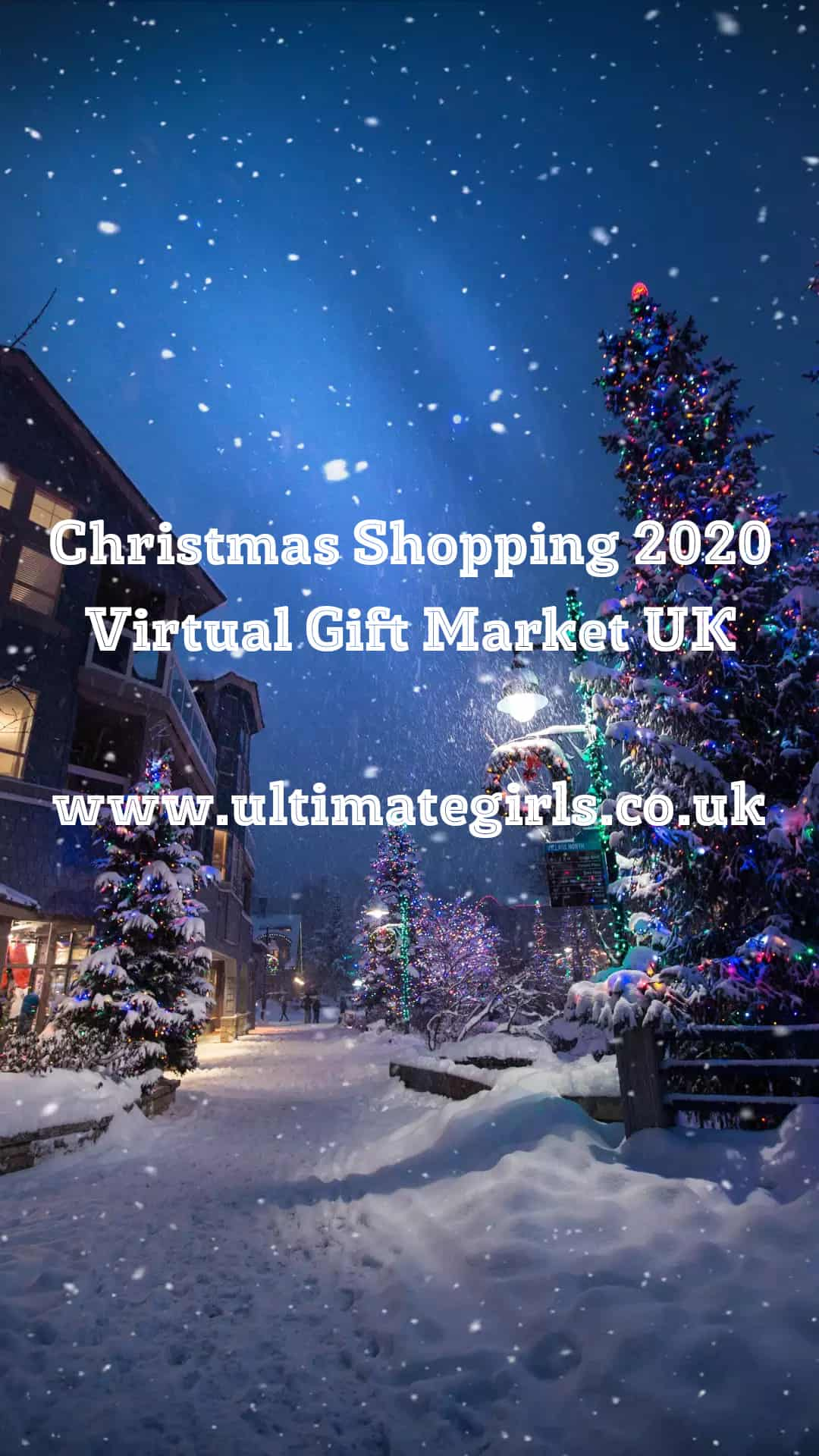 Book a Stall at Virtual Christmas Market 2020