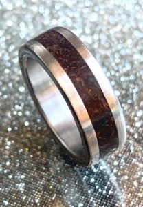 Wooden Inlay Ring | The Magic of Woodturning Image
