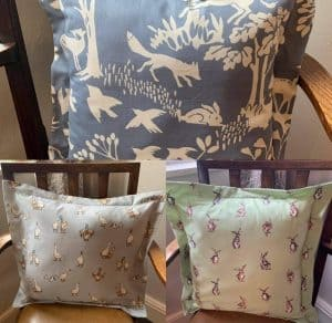 Foxes, Rabbits and Duck Cushions! | Cottage Farm Crafts & Antiques Image