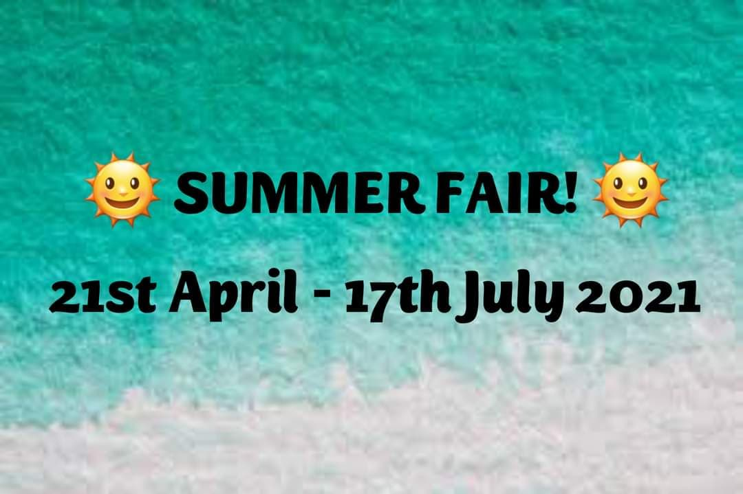 Book a stall at Virtual Summer Fair
