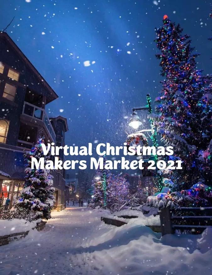 Book a stall at Virtual Christmas Maker's Market 2021