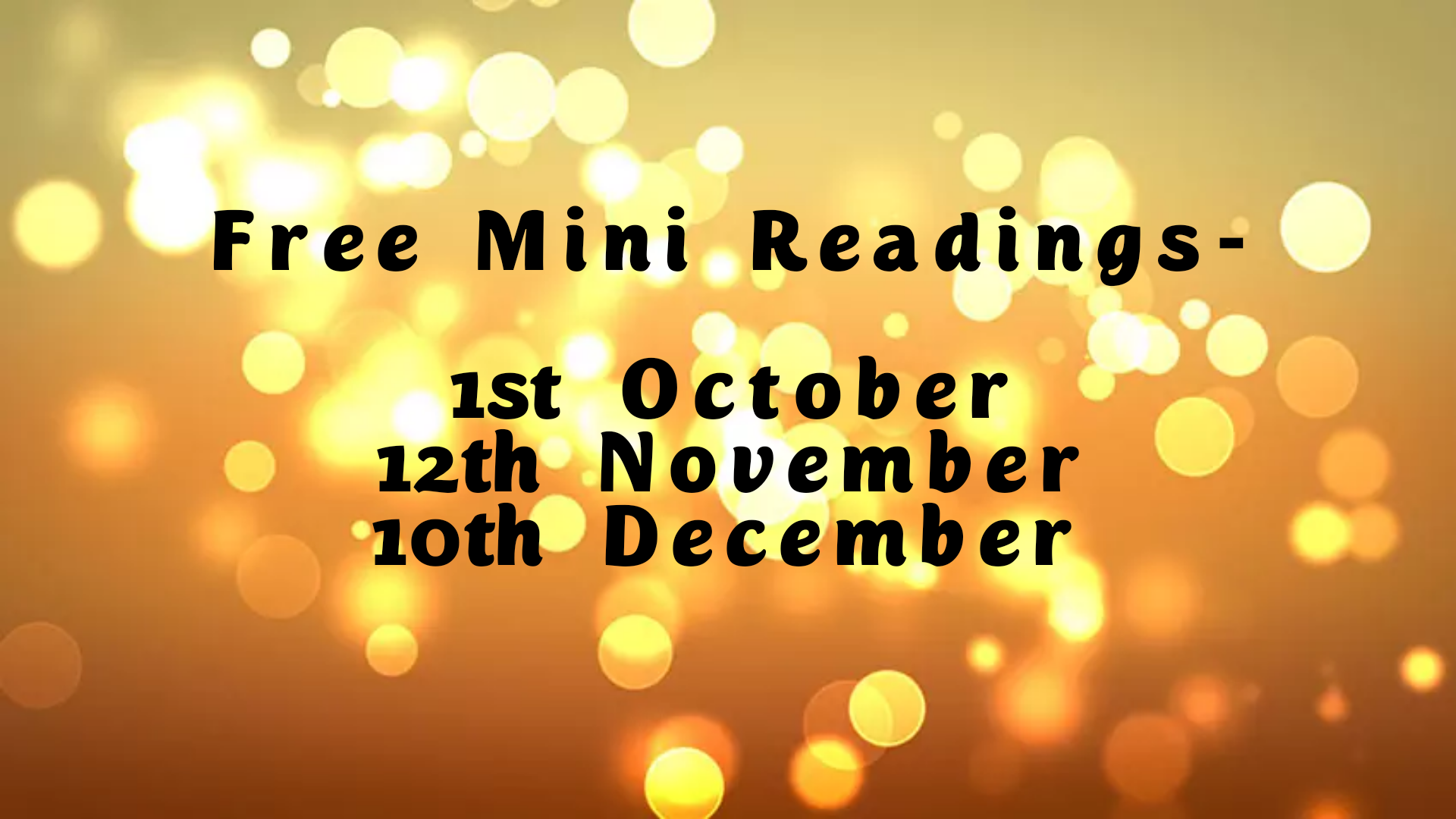 Book a stall at October Virtual Psychic Event