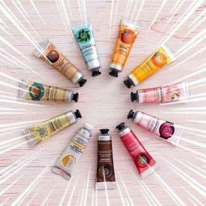 The Body Shop Hand Creams Image