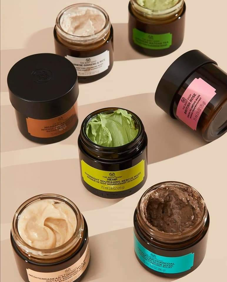 Body Shop expert Face Masks Image
